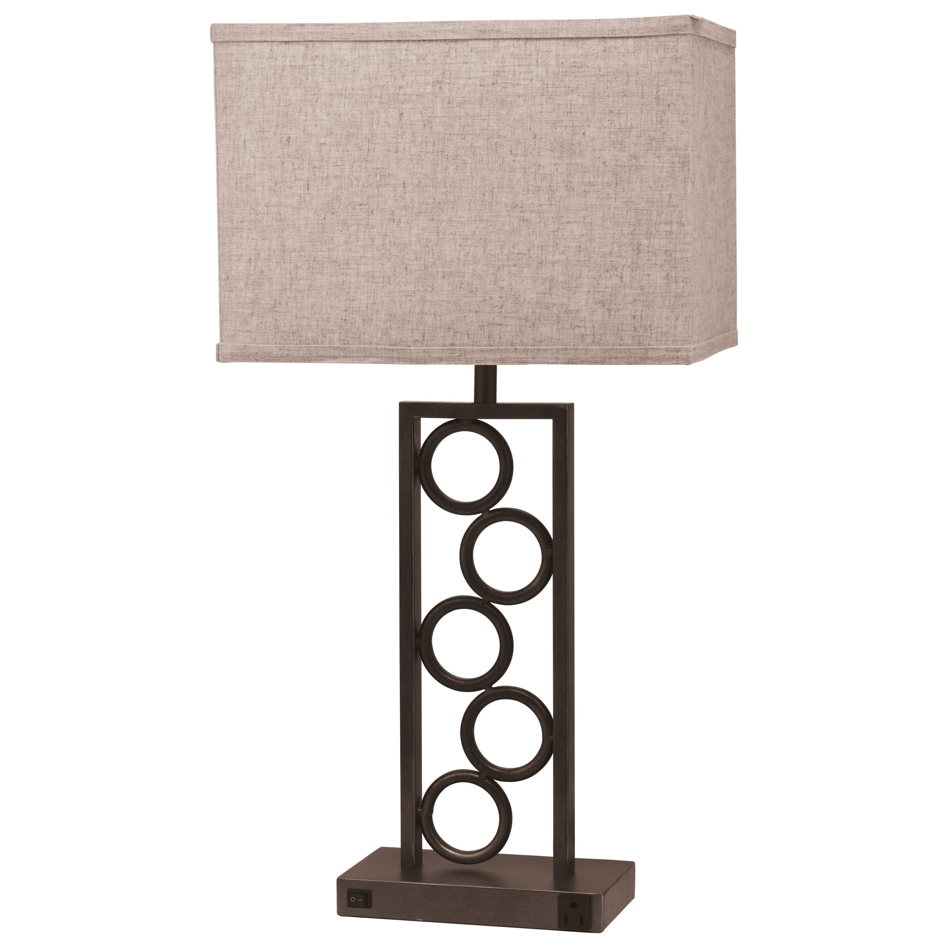 6234 Table Lamp by Crown Mark at Nassau Furniture and Mattress