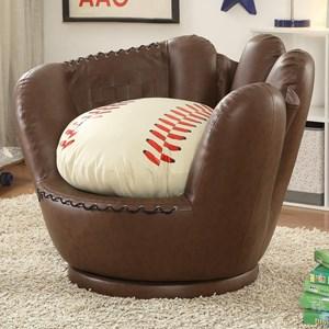 Youth Baseball Glove Chair