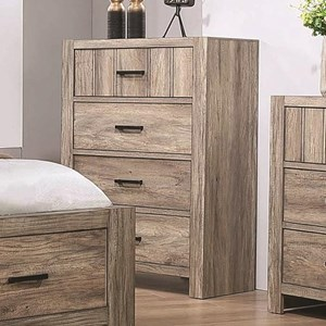 Contemporary 4-Drawer Chest