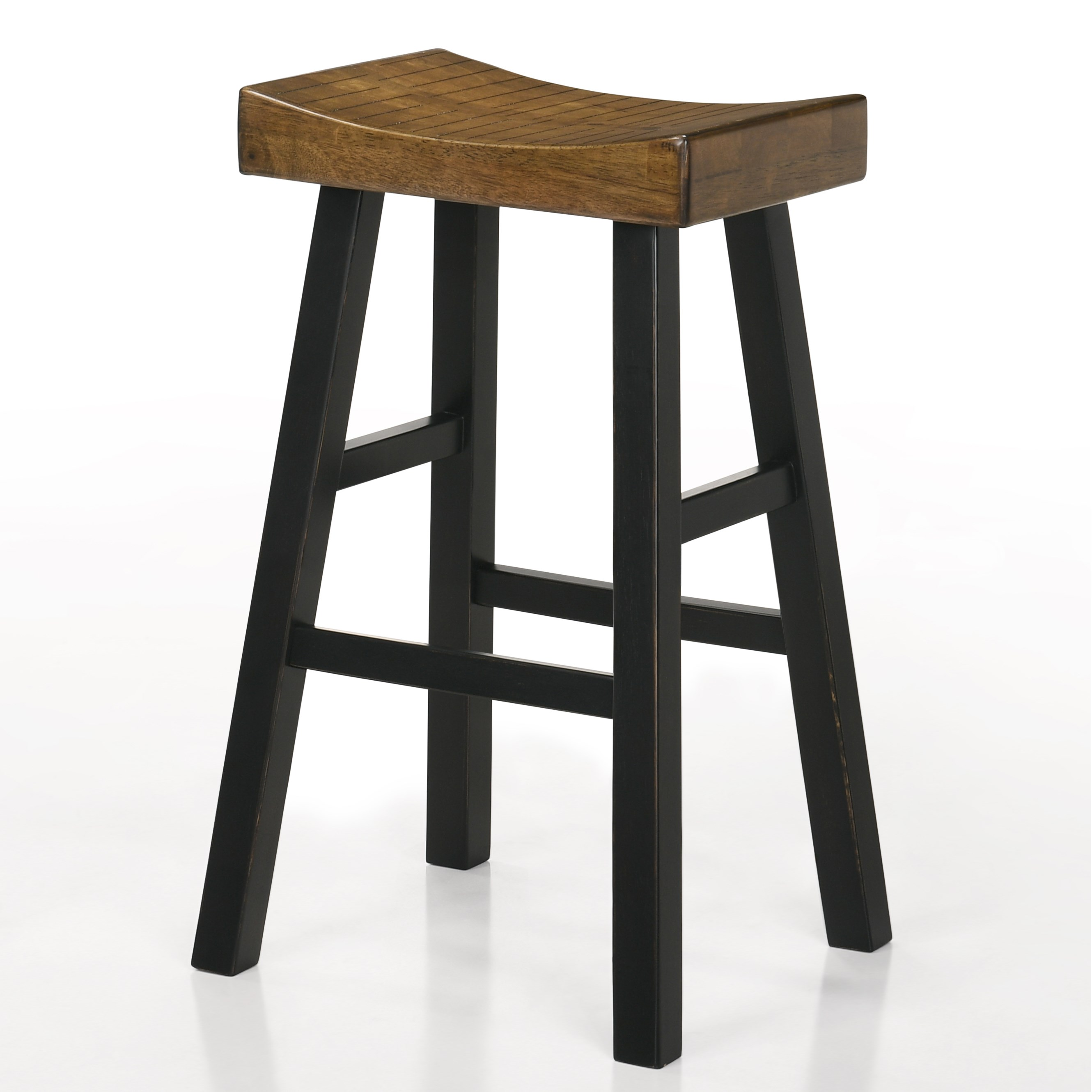 """Aruba 29"""" Saddle Stool by Crown Mark at Northeast Factory Direct"""