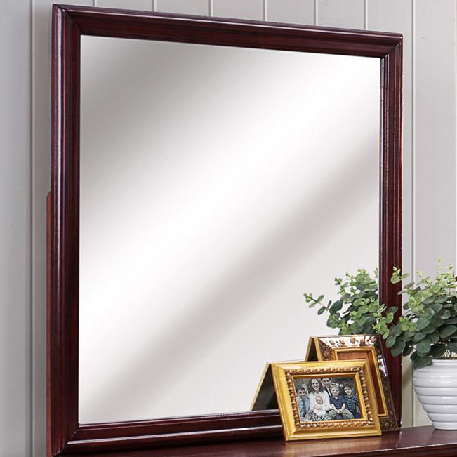 B3800 Louis Phillipe Mirror by Crown Mark at Northeast Factory Direct