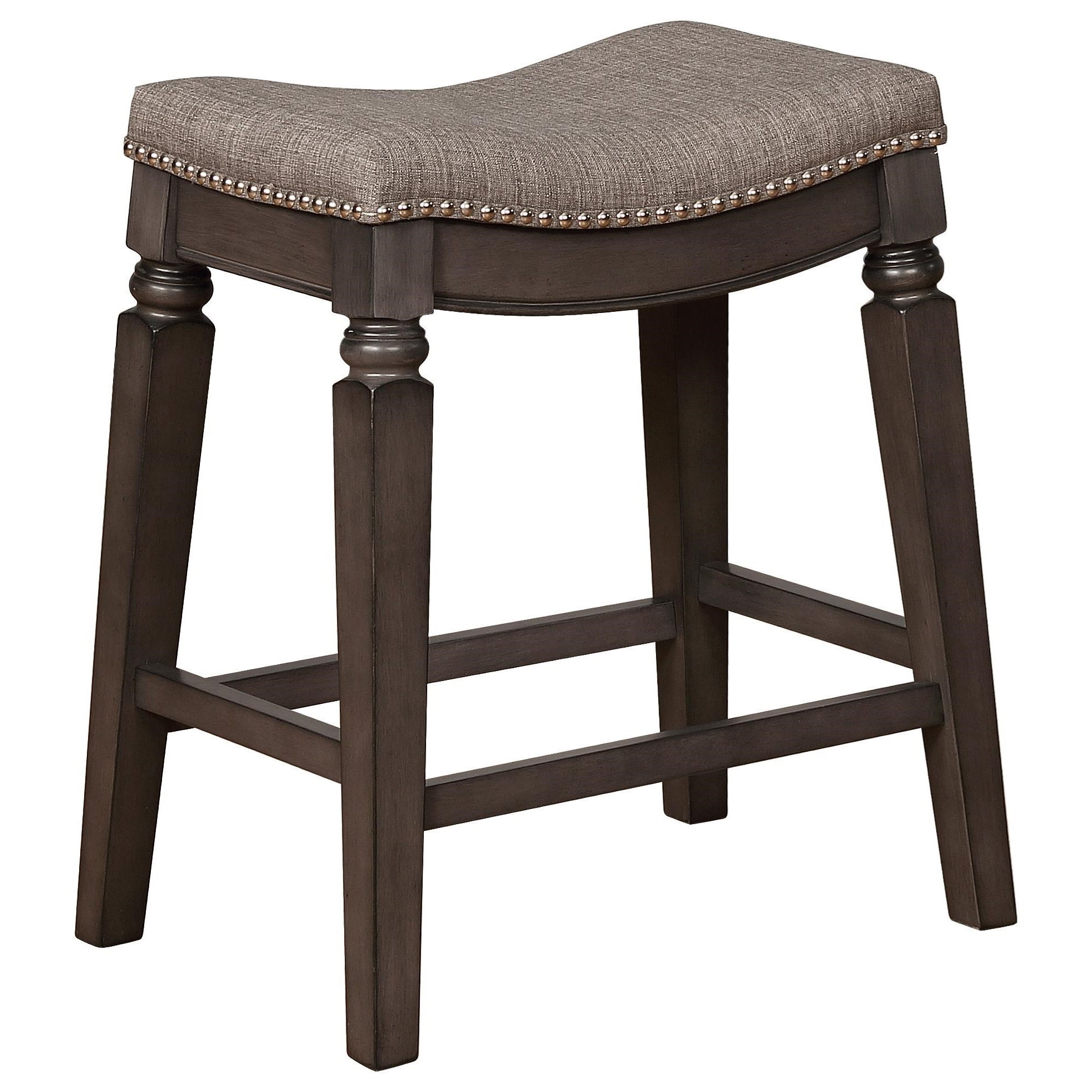 Bar Stools CM Counter Height Bar Stool by Crown Mark at Northeast Factory Direct