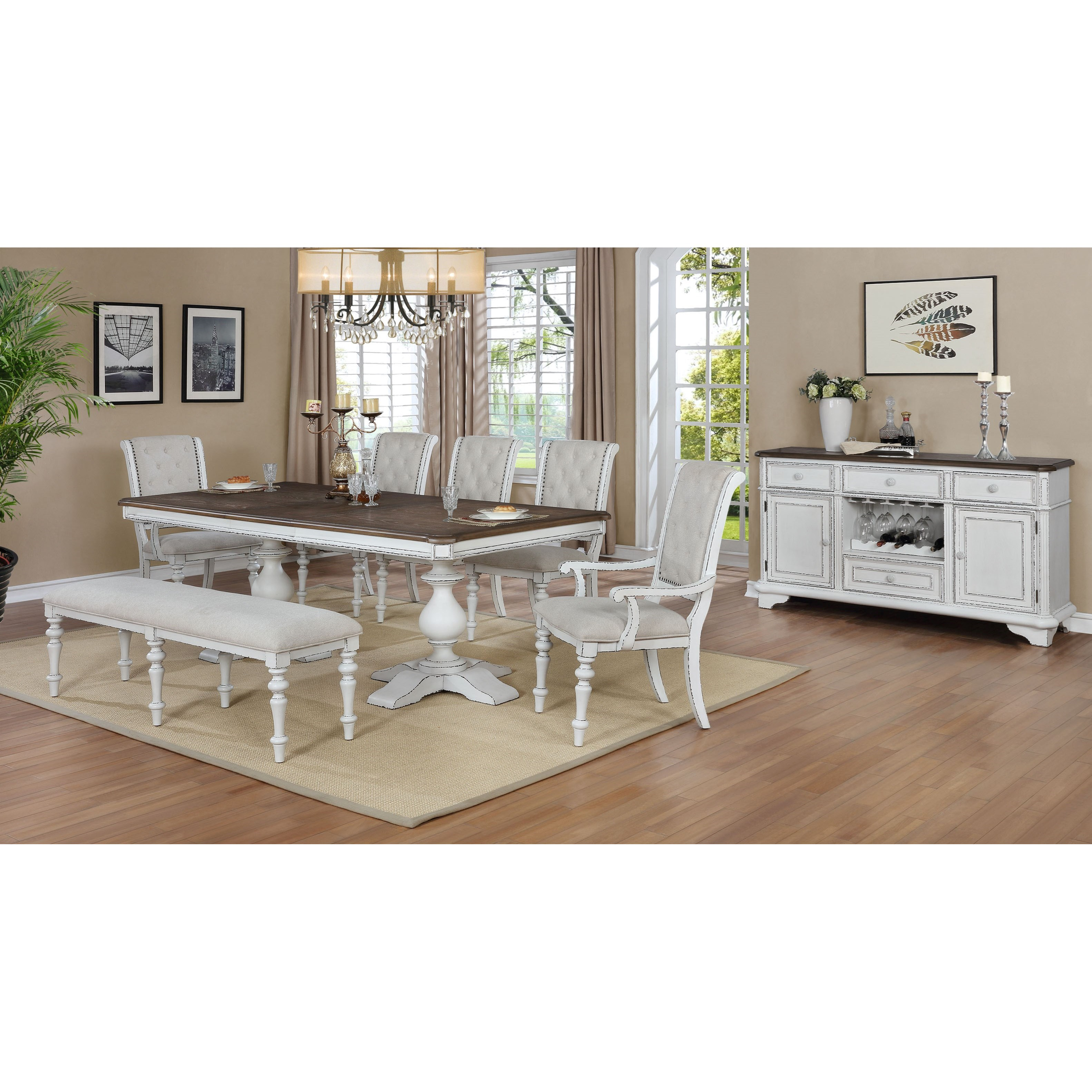 Bardot Formal Dining Room Group by Crown Mark at Northeast Factory Direct