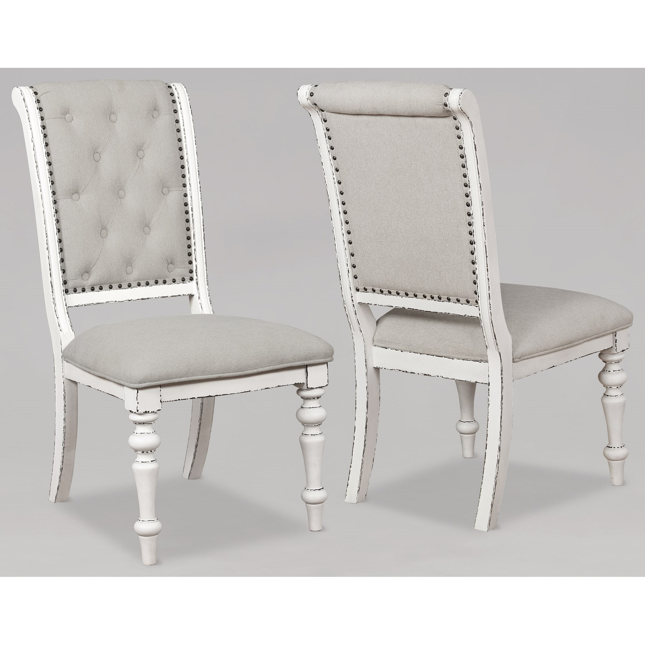 Bardot Dining Side Chair by Crown Mark at Northeast Factory Direct