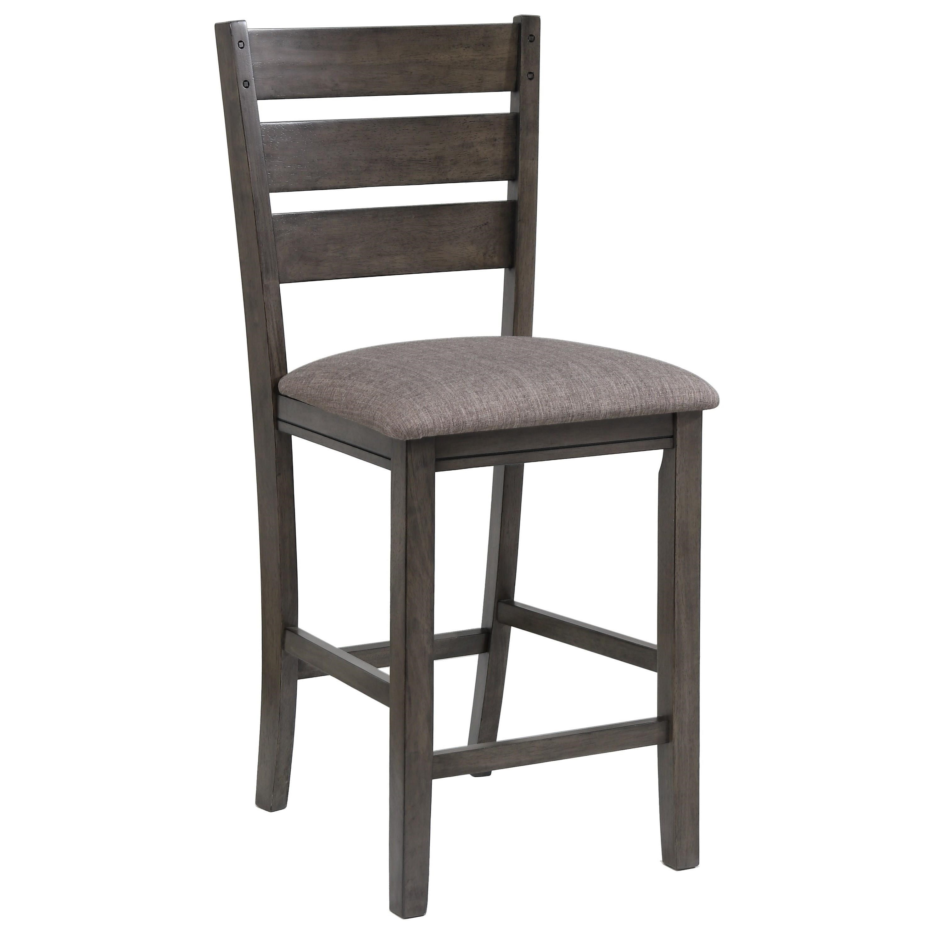 Bardstown Counter Height Chair by Crown Mark at Northeast Factory Direct