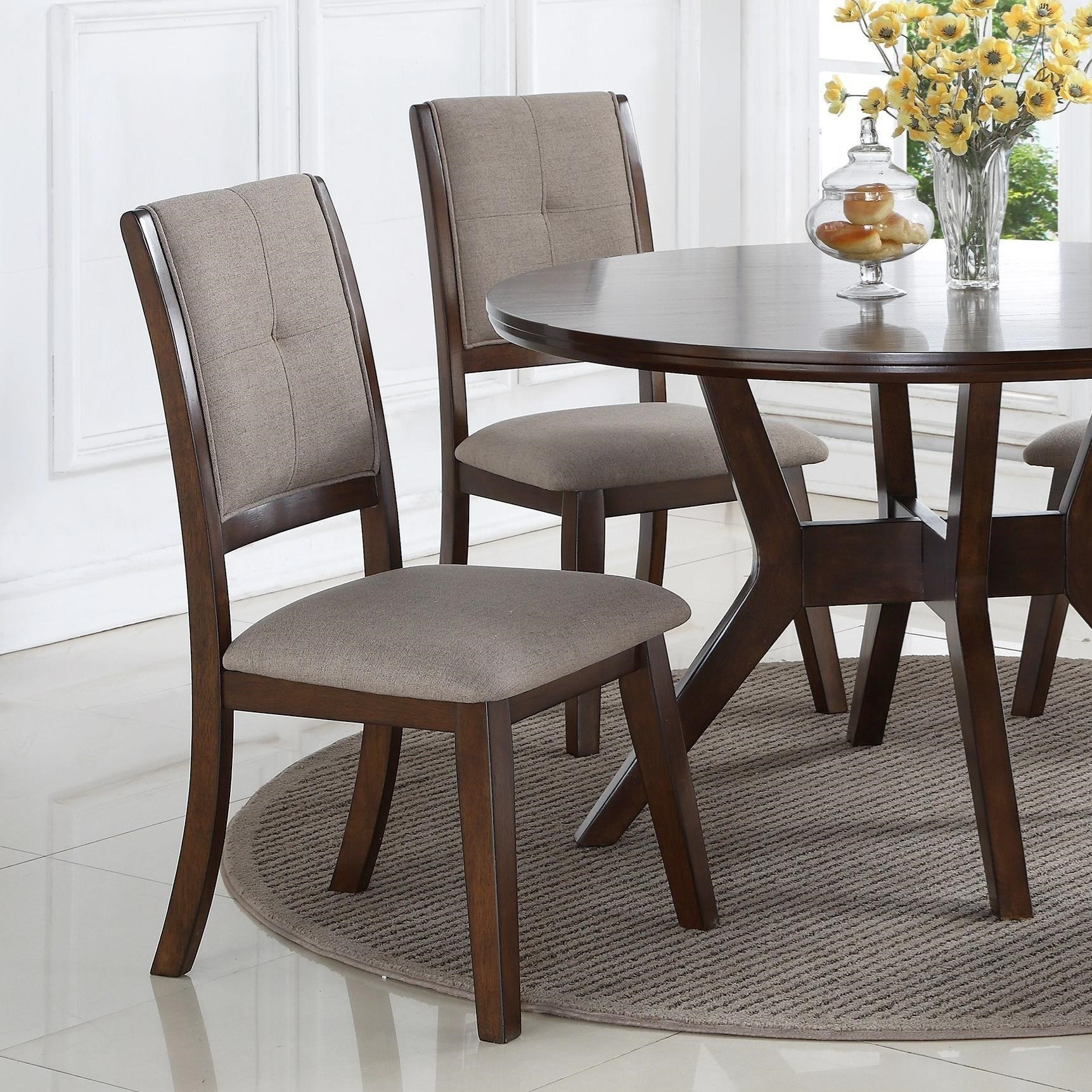 Barney Dining Chair by Crown Mark at Northeast Factory Direct