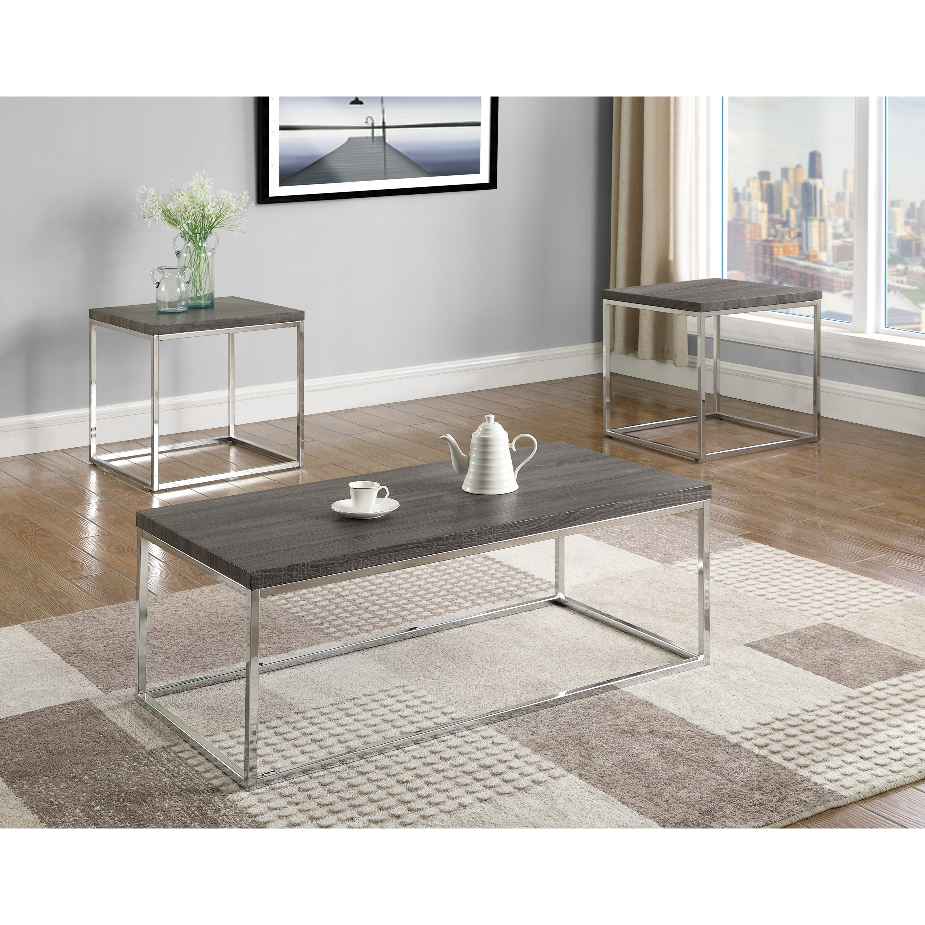 Britt Occasional Table Group by Crown Mark at Northeast Factory Direct