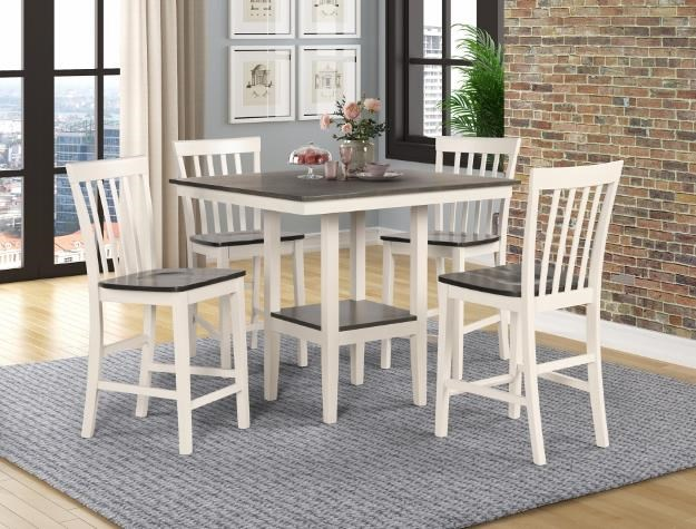 Brody 5 Piece Counter Height Dining Set by Crown Mark at Darvin Furniture