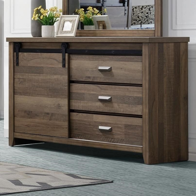 Calhoun Dresser by Crown Mark at Corner Furniture