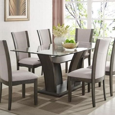 Camelia Grey Dining Table by Crown Mark at Northeast Factory Direct
