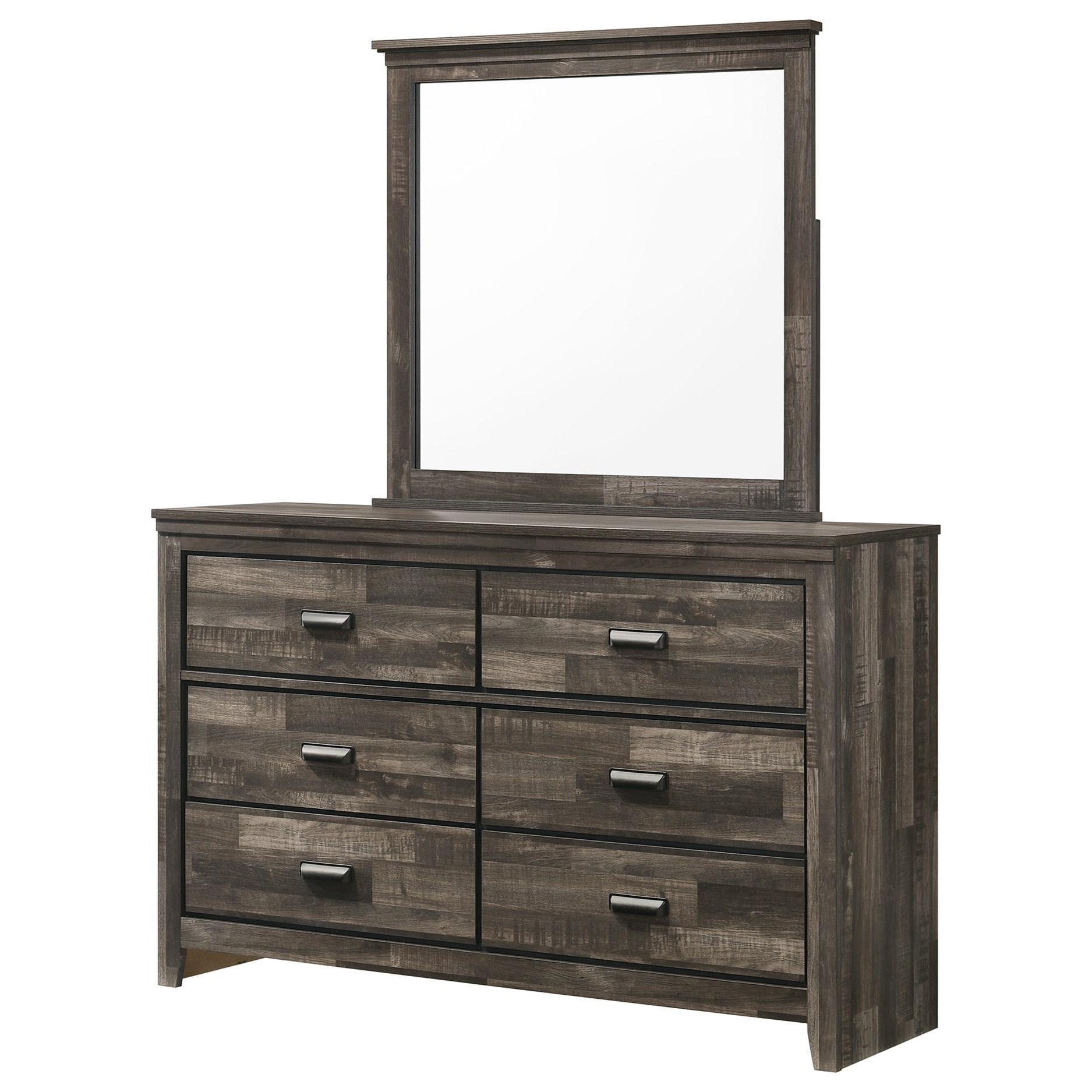 Carter Dresser and Mirror by Crown Mark at Northeast Factory Direct