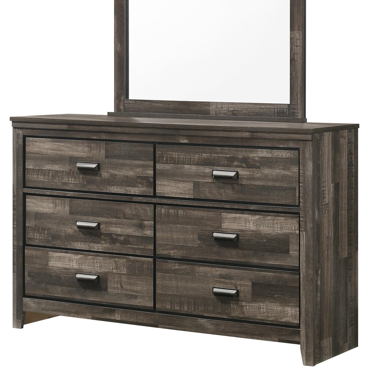 Carter Dresser by Crown Mark at Pedigo Furniture