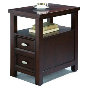 Chairside Table with 2 Drawers