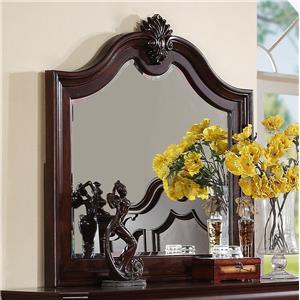 Mirror with Decorative Molding