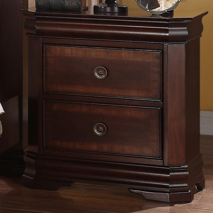 Charlotte Night Stand by Crown Mark at Northeast Factory Direct