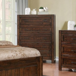 Rustic Drawer Chest