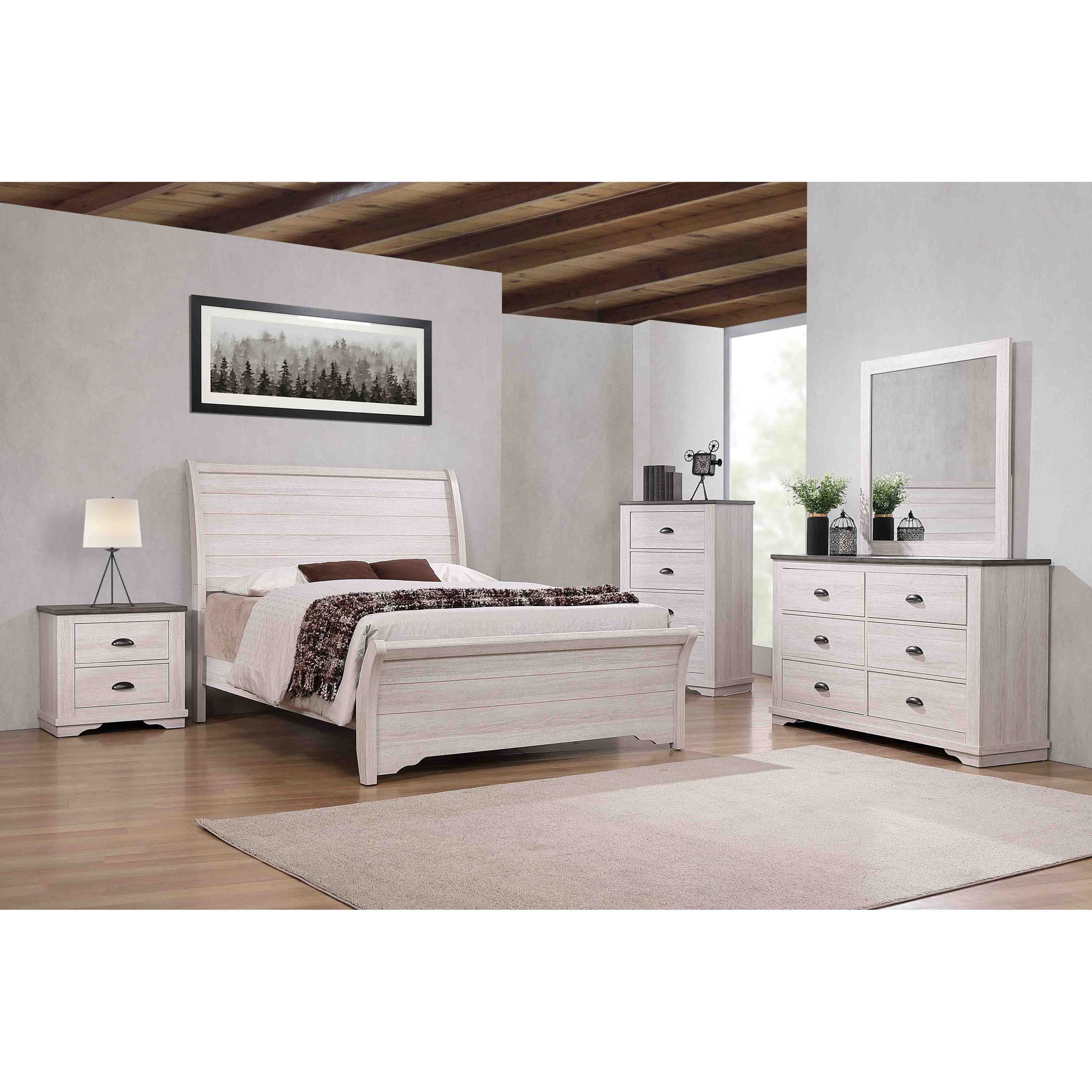 Coralee Queen Bedroom Group by Crown Mark at Wilcox Furniture