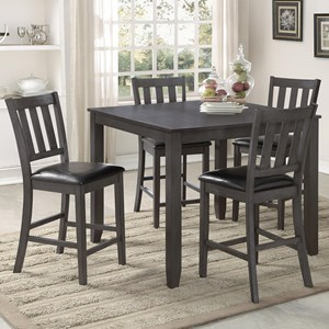 Transitional Counter Height Table Set
