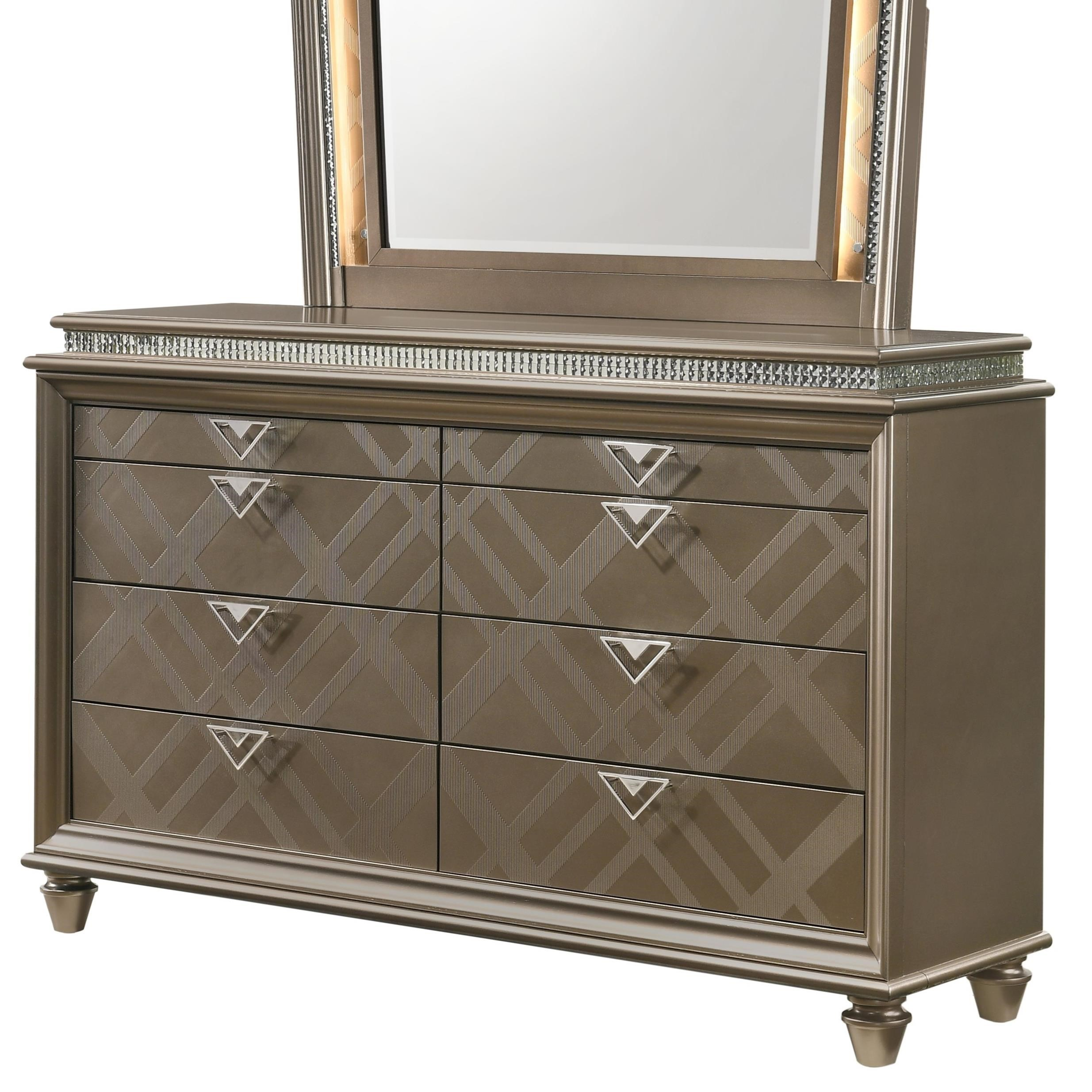 Cristal Dresser by Crown Mark at Northeast Factory Direct