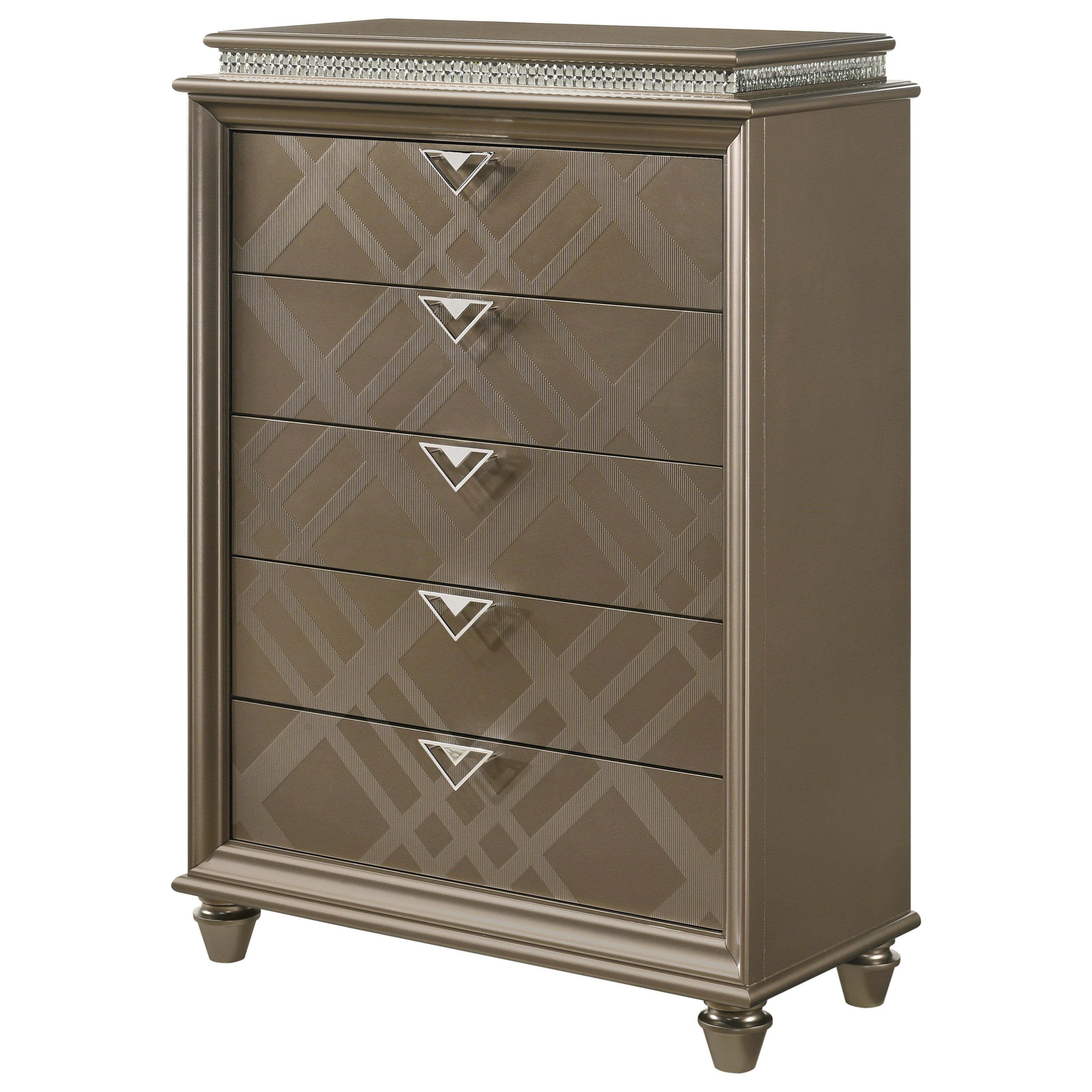 Cristal Chest by Crown Mark at Northeast Factory Direct