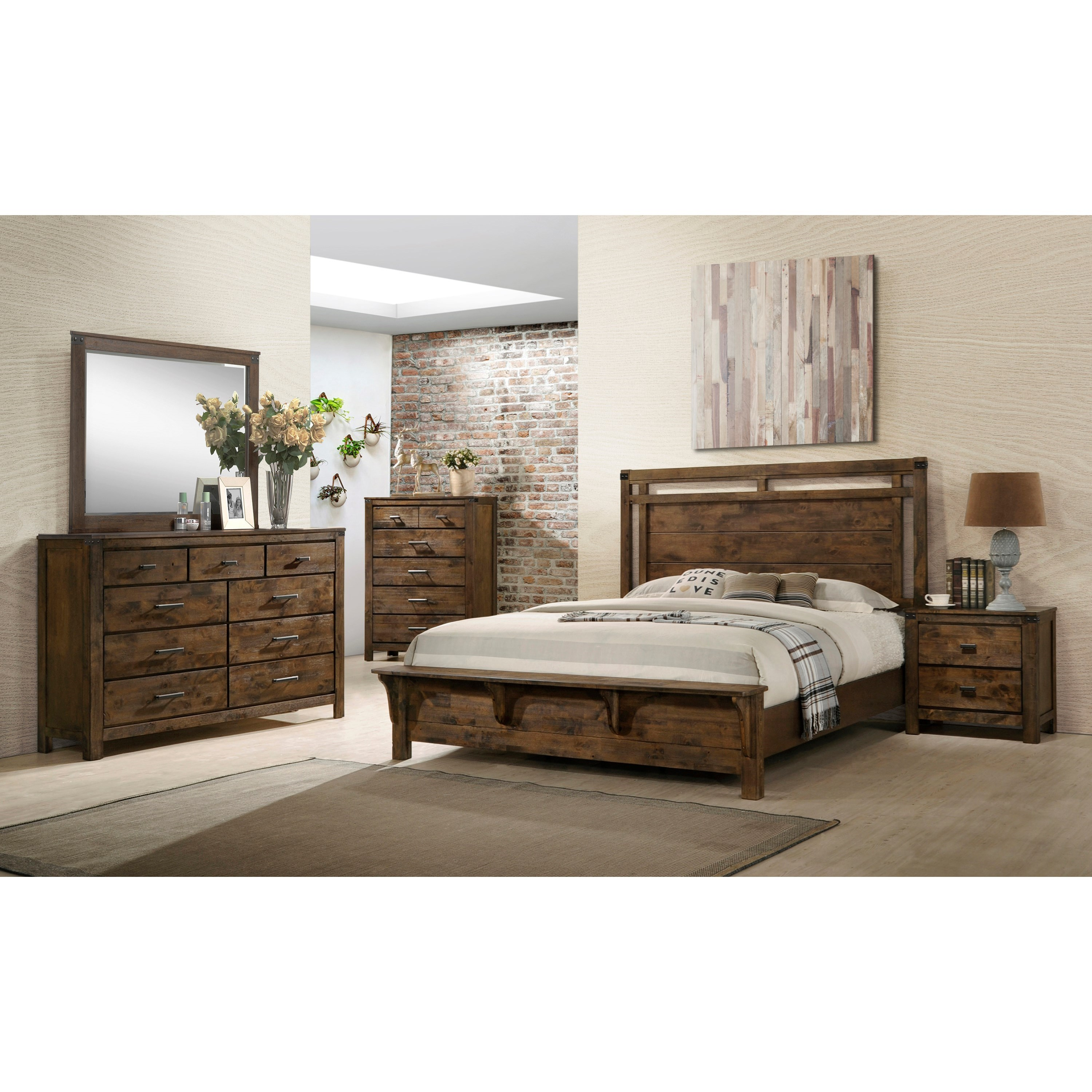 Curtis King Bedroom Group by Crown Mark at Northeast Factory Direct