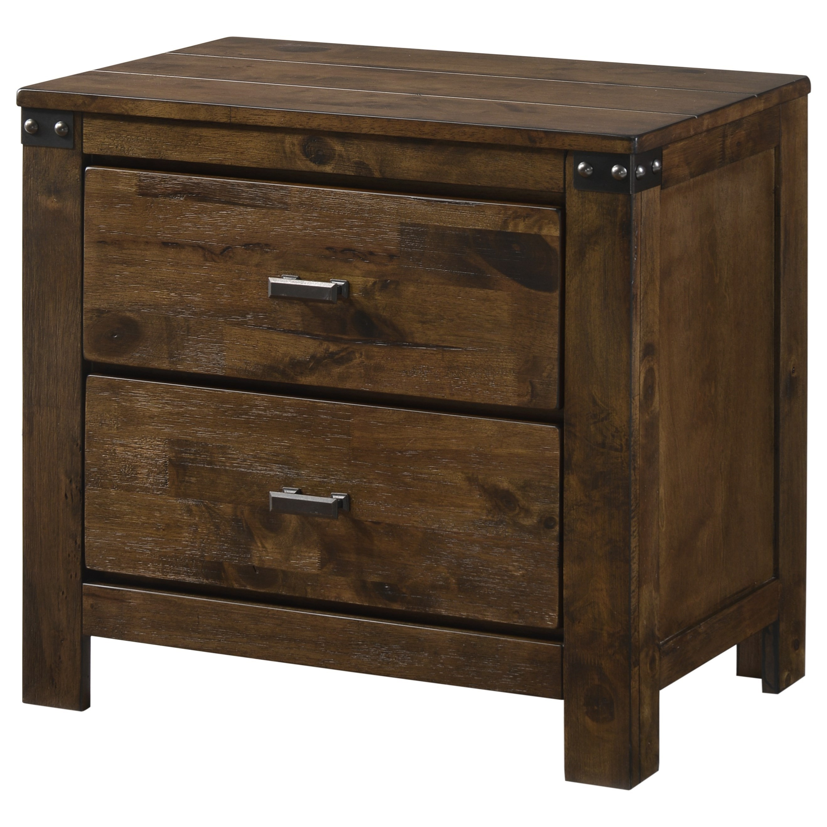 Curtis Night Stand by Crown Mark at Northeast Factory Direct