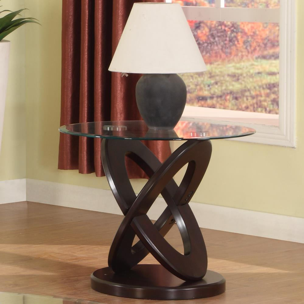 Cyclone End Table by Crown Mark at Bullard Furniture