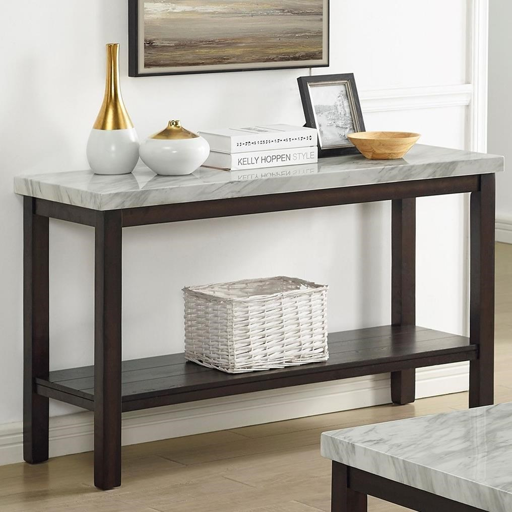 Deacon Sofa Table by Crown Mark at Northeast Factory Direct