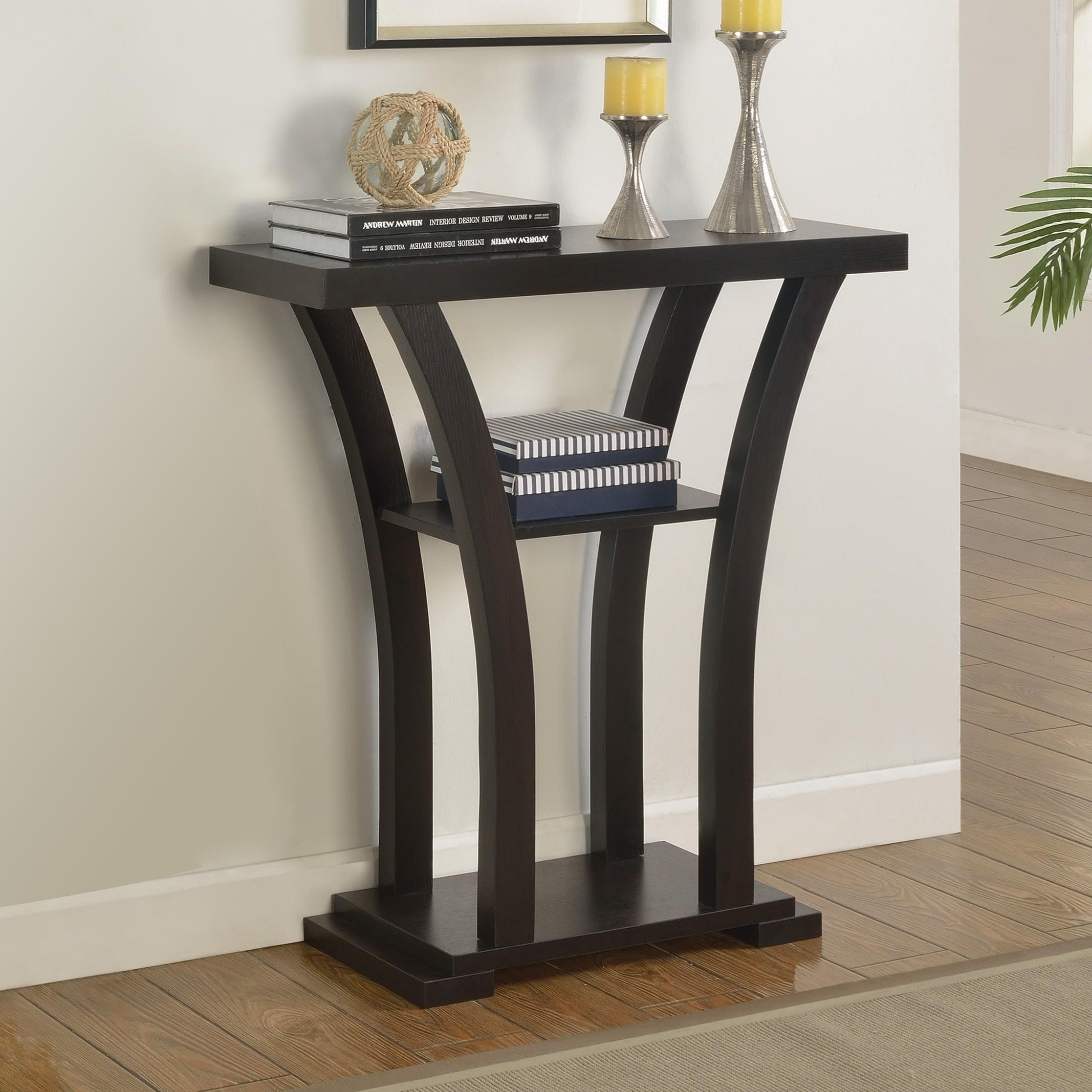 Draper Console Table  by Crown Mark at Darvin Furniture