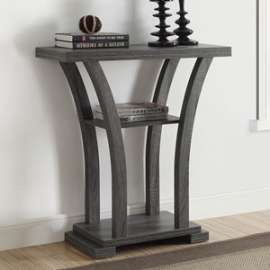 Modern Console Table with Curved Legs