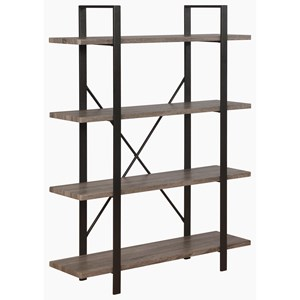 Etagere Bookcase with 4 Shelves