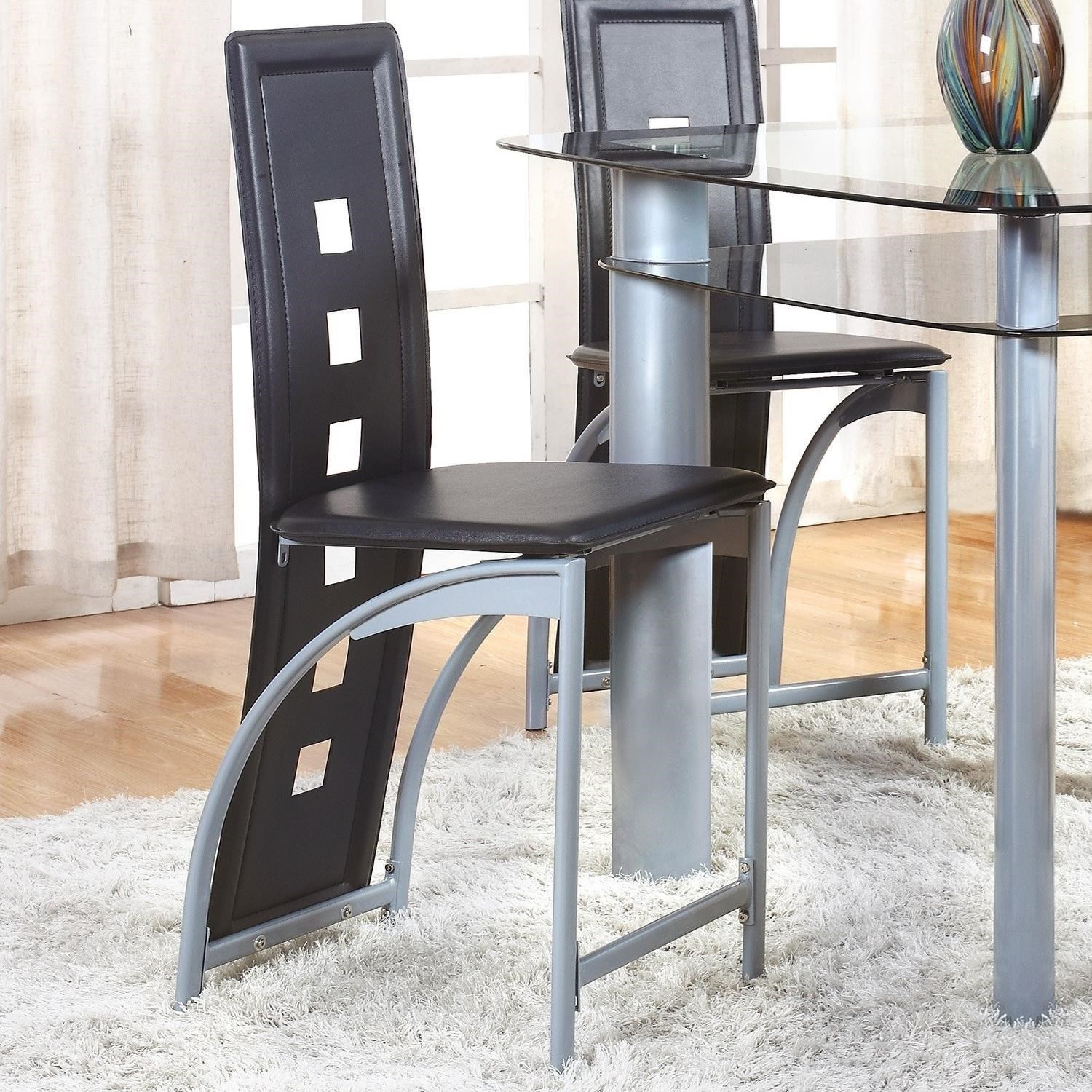 Echo Counter Height Chair by Crown Mark at Northeast Factory Direct