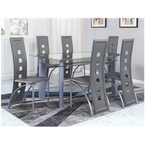 Dining Table and Side Chairs