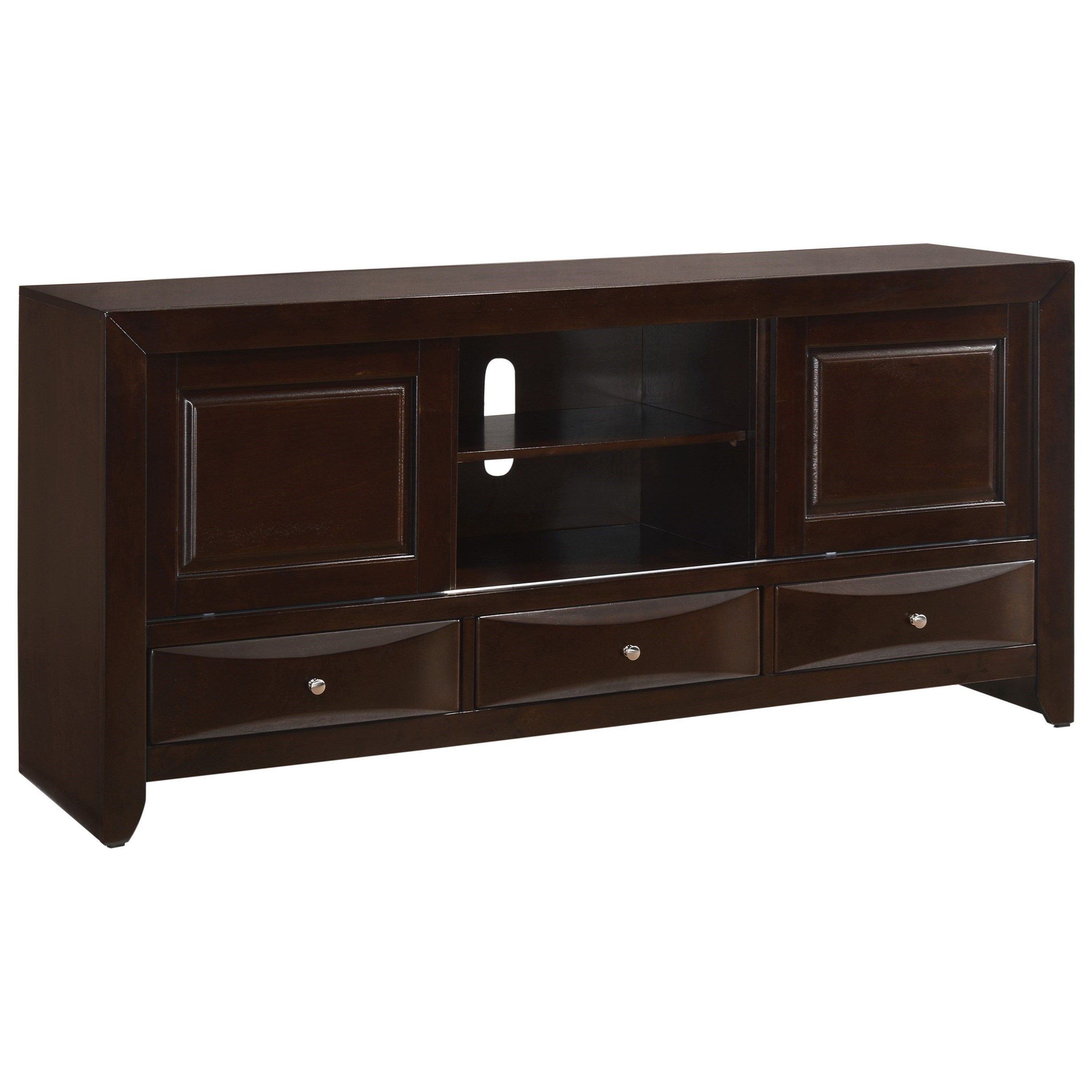 Emily TV Stand by Crown Mark at Furniture Fair - North Carolina