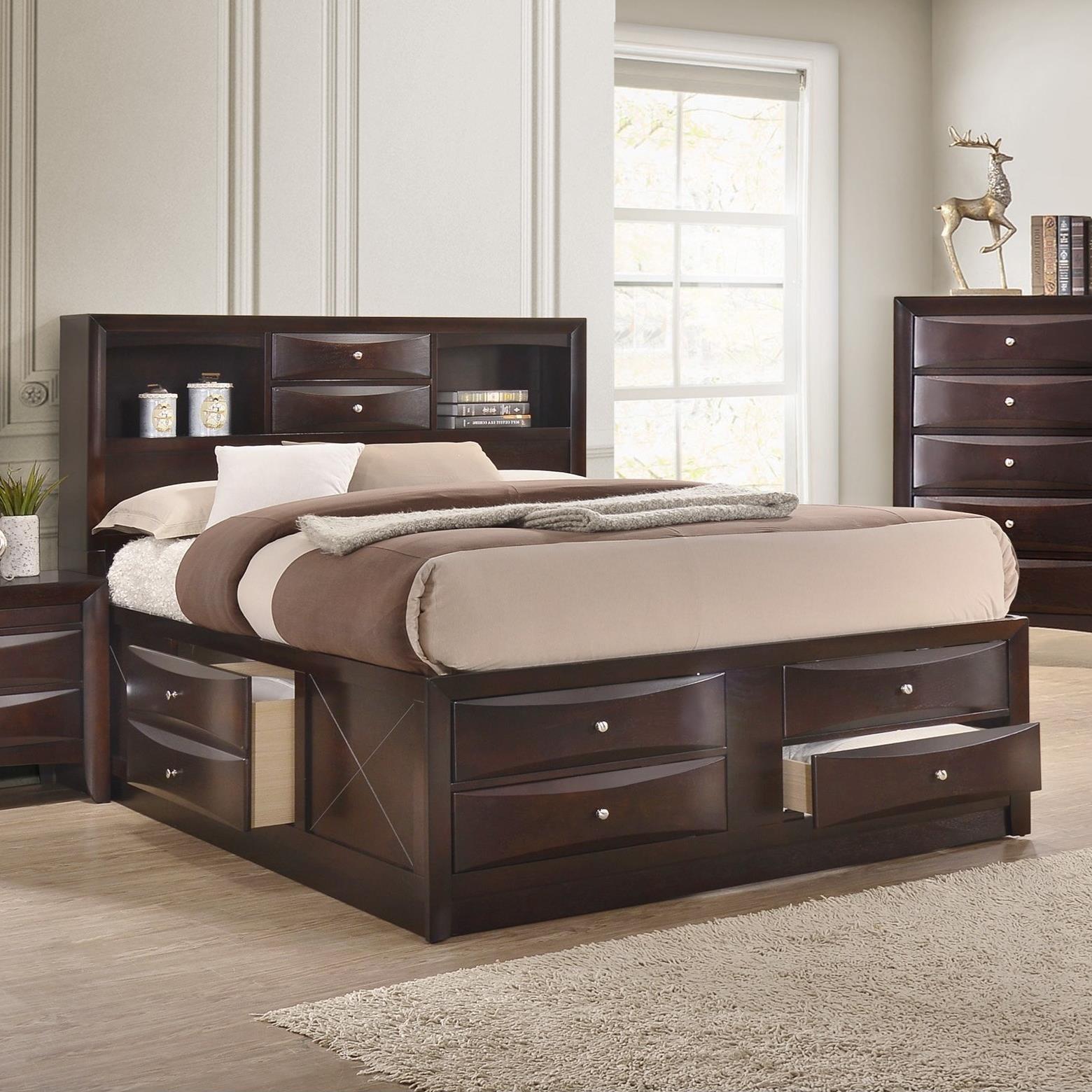 Queen Captain's Bed