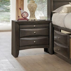 Contemporary Drawer Night Stand