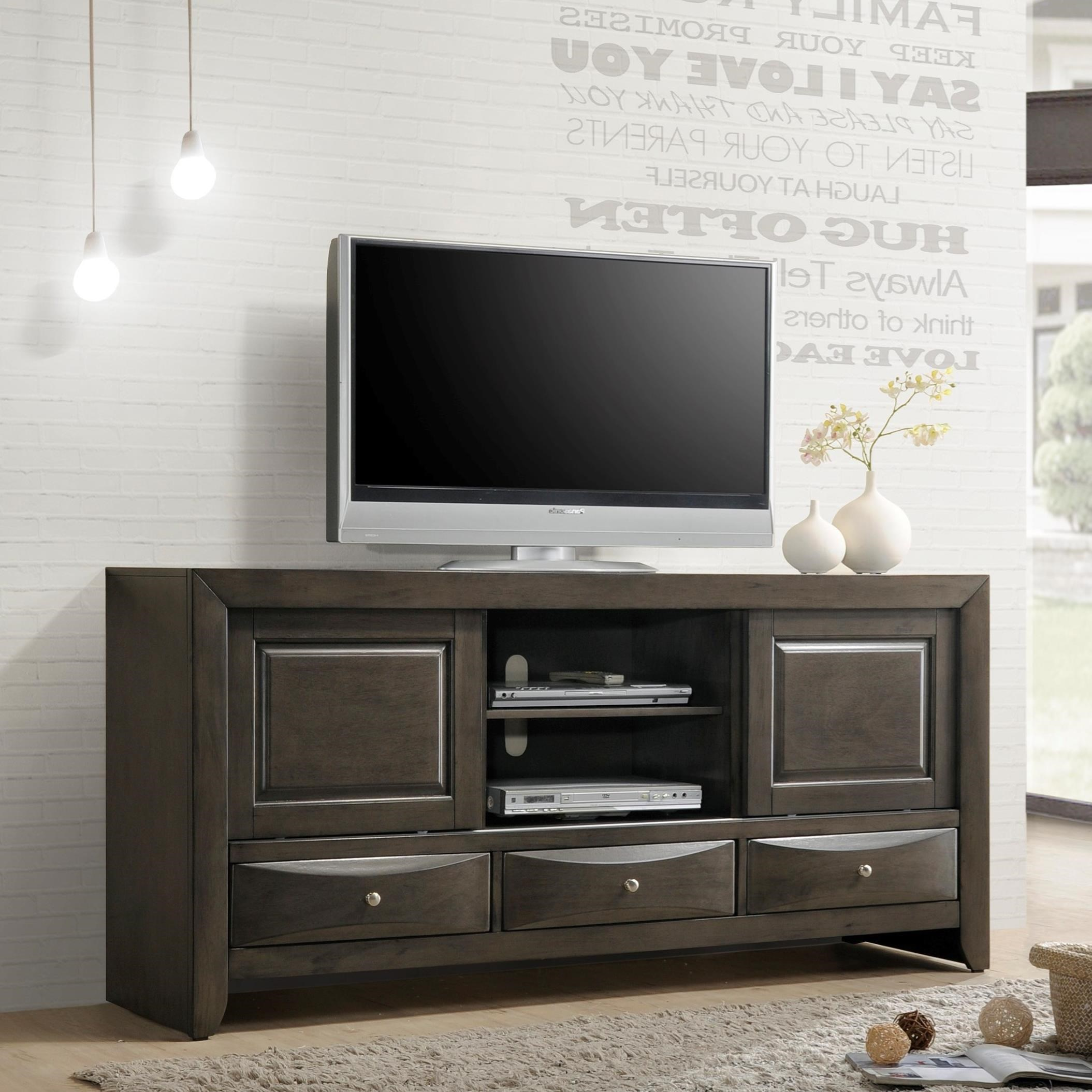 Emily TV Stand by Crown Mark at Northeast Factory Direct