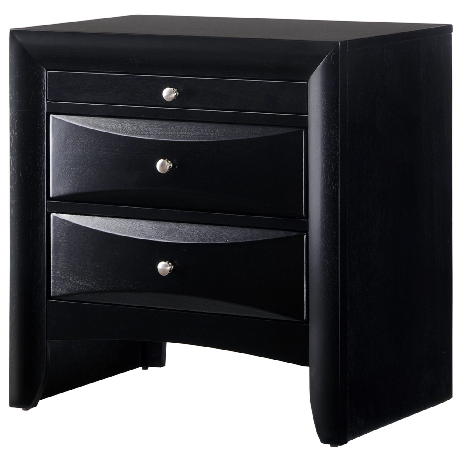 Emily Nightstand by Crown Mark at Nassau Furniture and Mattress
