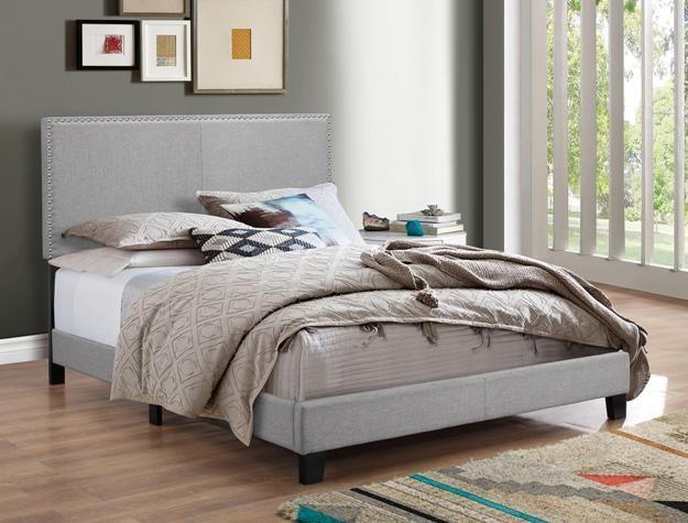 5271GY KING PLATFORM BED by Crown Mark at Furniture Fair - North Carolina