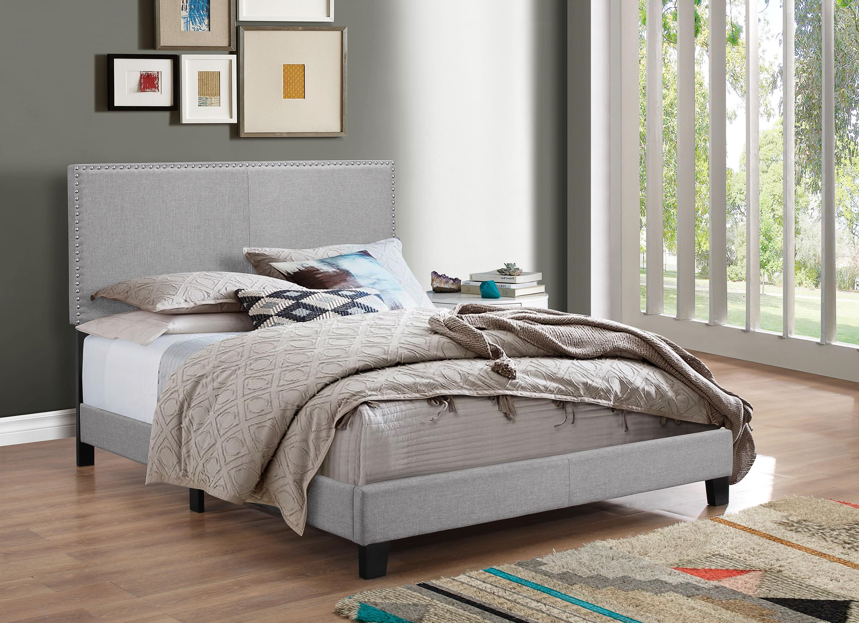 Erin King Size Bed by Crown Mark at Darvin Furniture