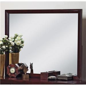 Crown Mark Evan Dresser Mirror