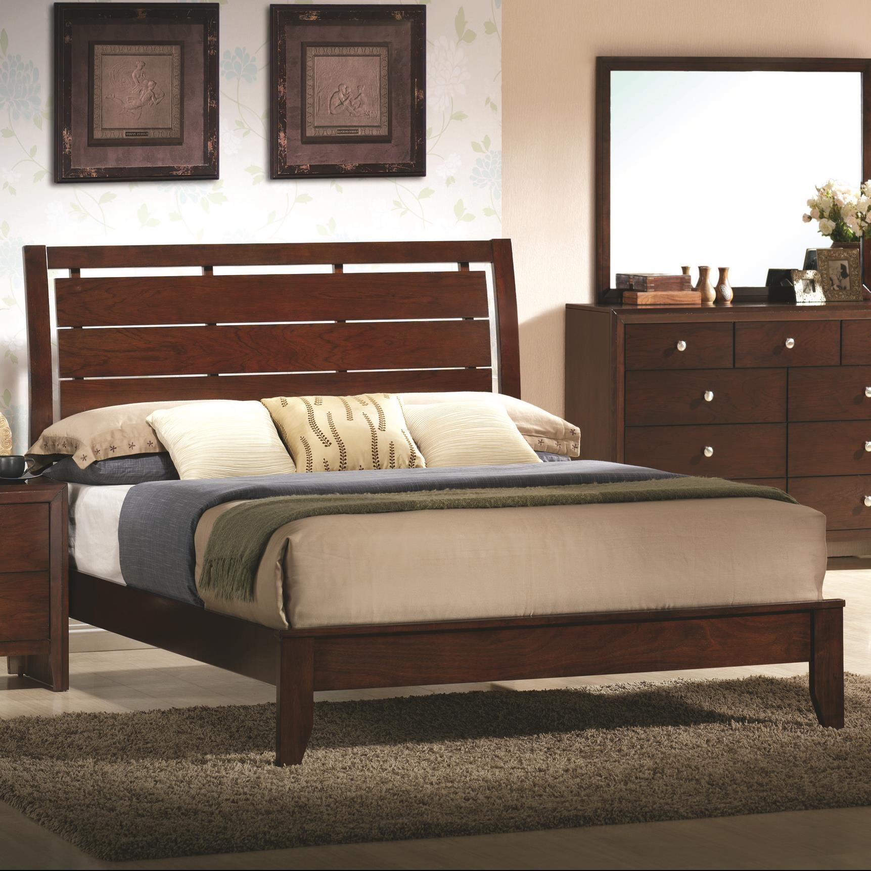 Evan Full Headboard and Footboard Bed by Crown Mark at Northeast Factory Direct