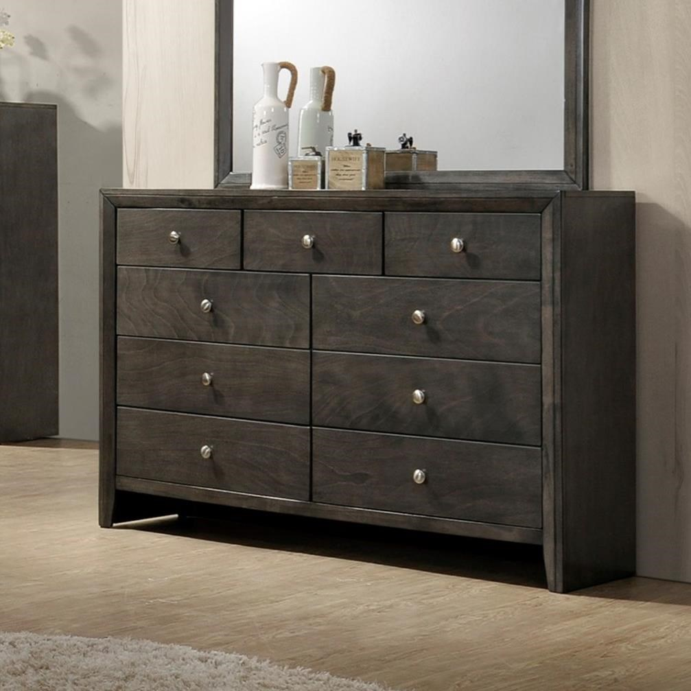 Evan Dresser                        by Crown Mark at Northeast Factory Direct