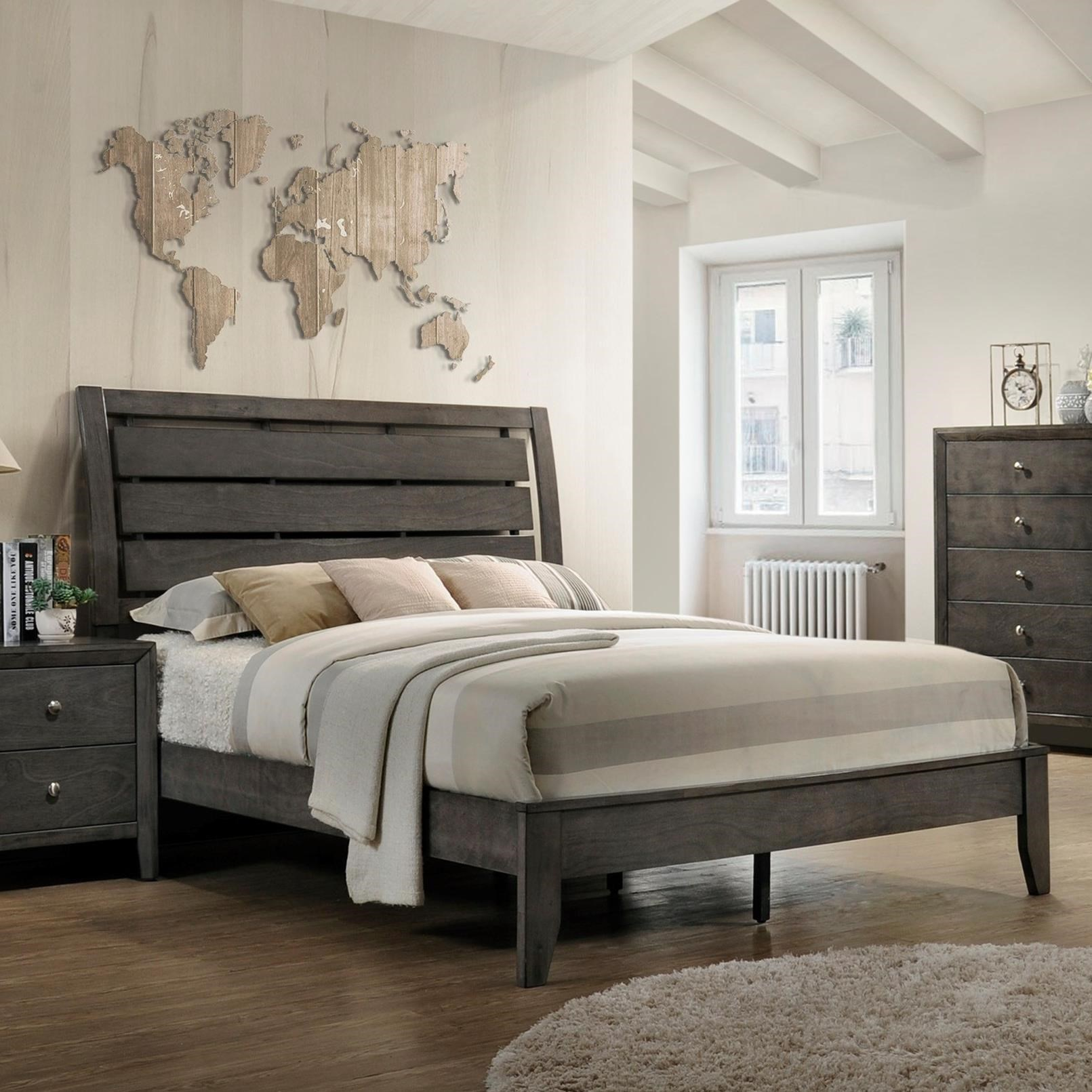 Evan Queen Bed by Crown Mark at Northeast Factory Direct