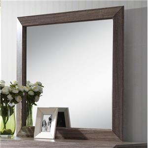 Contemporary Framed Mirror