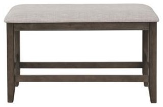 Franklin Counter Height Bench by Royal Fair at Ruby Gordon Home
