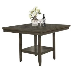 Counter Height Table with 20-Inch Lazy Susan