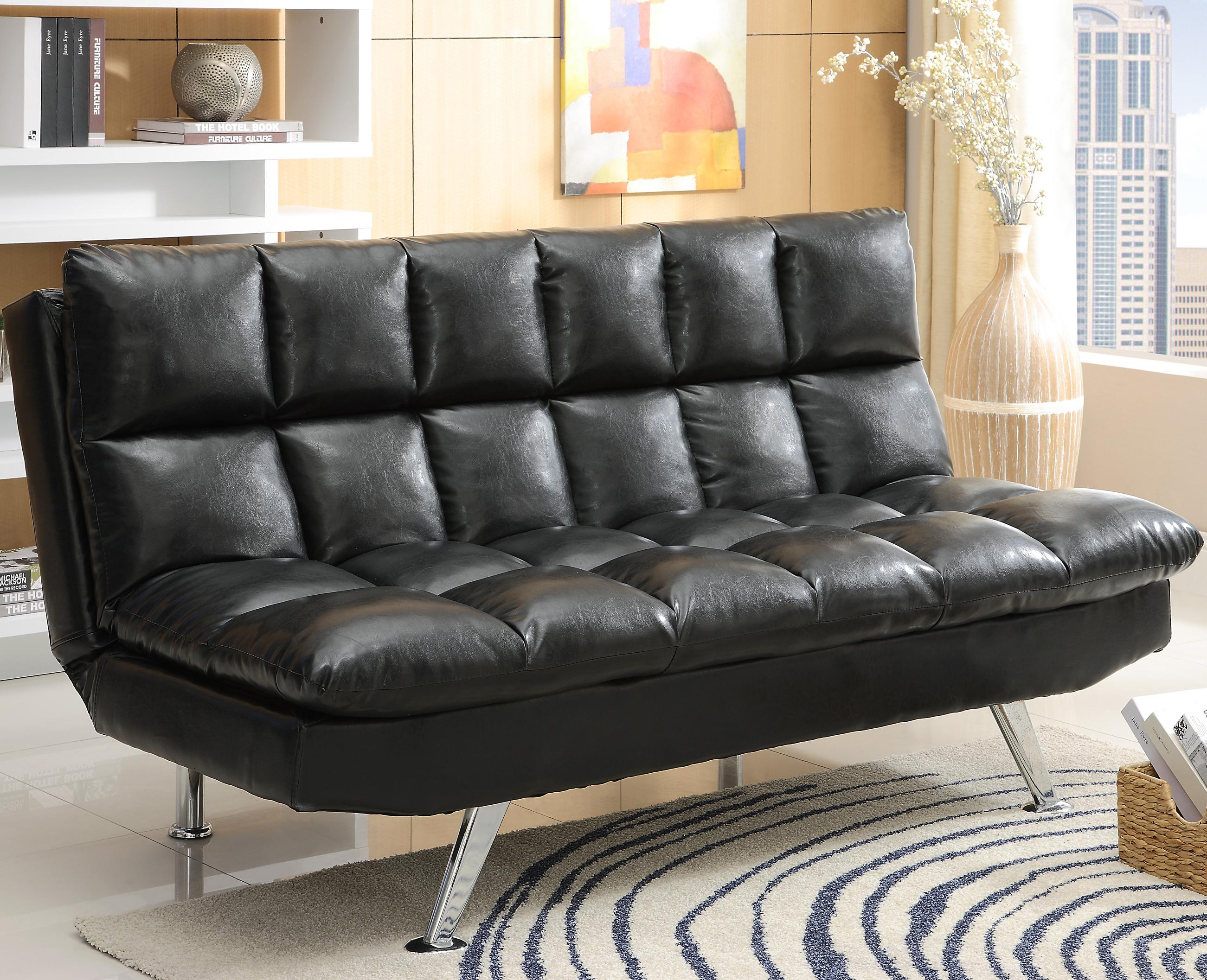 Futons & Daybeds Adjustable Sofa by Crown Mark at Northeast Factory Direct