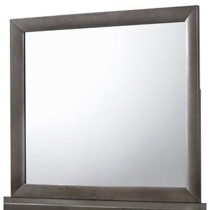 Rectangular Wood Dresser Mirror Top