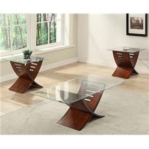 Contemporary Accent Table Set